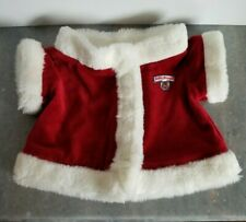 Vintage Original Teddy Ruxpin  Red Christmas Santa Jacket Coat World of Wonder