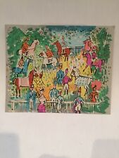 Charles Cobelle Paris Equestrian Horse Race Limited Edition signed Numbered Lith