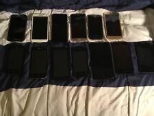 Cellphones Lot 13 total Repair Resale Scrap Gold
