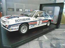 OPEL Manta B 400 Rallye Gr.B RAC GB 1983 #2 H. Toivonen Rothmans IXO RAR 1:18
