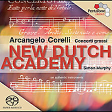 New Dutch Academy, A. Corelli - Concerti Grossi [New SACD] Hybrid SACD