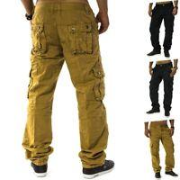 Pantalon cargo Chino Jean ample coupe cargo pantalon de travail homme Trophée