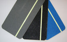 SALVUM BLUE  ANTI SLIP STAIR PADS LUMINOUS NIGHT STRIP  NARROWBOAT- 550 x 135mm