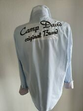 Camp David Hemd XL Muscle Fit TOP Blau wie Neu