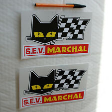 SEV Marchal stickers decals Alpine Renault A110 A310 Motor Race Rally Le Mans .