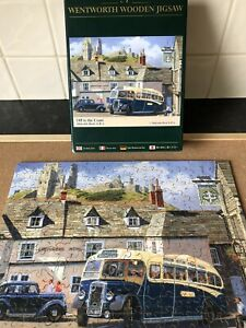 """Wentworth Wooden Jigsaw Puzzle - """"Off to the Coast"""" - 250 Pieces Complete"""