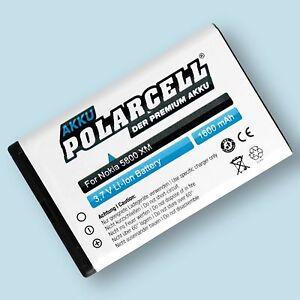 PolarCell Akku für Telekom Speedphone 701 1600mAh Li-Ion Batterie Accu T-Com