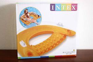 """Intex 58859 Sit 'n' Float 60"""" x 39"""" orange"""