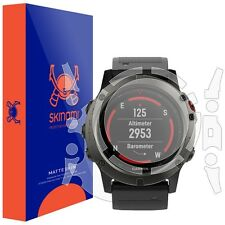 Skinomi FULL BODY (MATTE) Watch Skin+Screen Protector for Garmin Fenix 5x