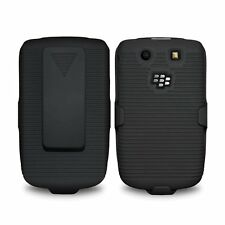 Amzer Shell Duro Supporto Custodia Clip Cintura Fondina Per Blackberry Torch 9800 9810