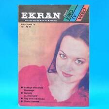 EKRAN 1505 | 10.04.-16.04.1987 | VR Polen FF Dabei | Shakin' Stevens Avy Gardner