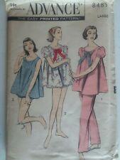 Vintage 1957 ~Pajama Set~Advance Sewing Pattern~Women Sz 18-20