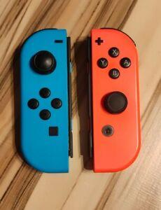 Nintendo Switch Joy-Con Controller 2er-Set - Neon-Rot/Neon-Blau