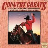 NELSON Willie, JONES George... - Country greats - CD Album
