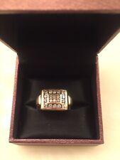 Fashion Diamond Ring Men's 14K Gold