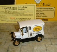 LLEDO - PROMO - 1920 MODEL T FORD VAN - CASTLEHOUSE MODELS  - RARE LTD EDITION