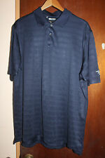 Adidas ClimaCool Blue Polo Shirt Size XL Continental Airlines Cargo Polyester