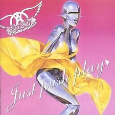 Just Push Play by Aerosmith (CD, Mar-2001, Columbia (USA)) Disc Only-Free Ship