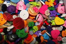 100 bulk mixed lot of buttons at least 100 buttons per lot various colours sizes