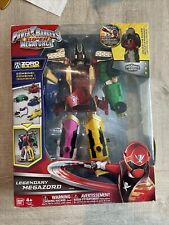 Power Rangers Super Megaforce Deluxe Legendary Megazord Zord Builder Incomplete