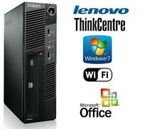 Custom Core i5 Gaming System 3.2GHz CPU WIN 7 Pro + MS Office DVD/RW Desktop PC