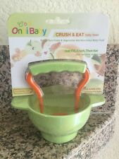 Onbi Baby Crush & Eat Baby Bowl