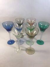 PV02434 Blefeld & Co Petal Twist Stem HARLEQUIN Wine Goblet BFC12- Set of 8