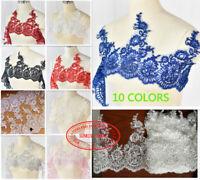 1 yard,27cm Lace Edge Trim Wedding Bridal Ribbon dress Applique Sewing DIY FL182