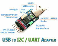 USB to I2C IIC UART TTL Master Adapter Converter STC ISP Download + Sample Code