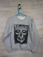 Misfits Music band punk rock  graphic Indie Sweatshirt Jumper refA11 S/M