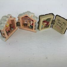Midwestern Home Products Christmas Porcelain Santa's Workshop & Storybook