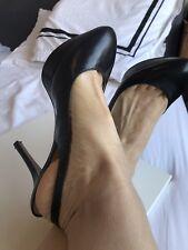 black heels size 7 Nine West Designer style