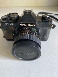 Yashica FX3 SLR Camera ( Untested)