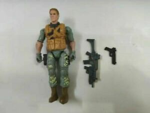 "3.75"" Gi Joe the trickshot logan chance w/ 2pcs weapons Action Figure"