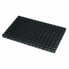 JVL Heavy Duty Large Outdoor Rubber Door Mat 50cm X 100cm 01 095