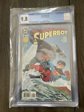 Superboy 9 CGC 9.8 1st King Shark White Pages Suicide Squad DC