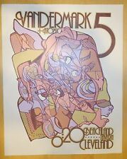 2004 Vandermark 5 - Cleveland Silkscreen Concert Poster by Andrew Todd