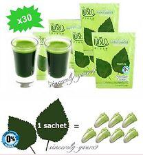 x30 Diet Slim CHLOROPHYLL Powder Supplement Preaw Beauty Herbal Detox Sugar Free