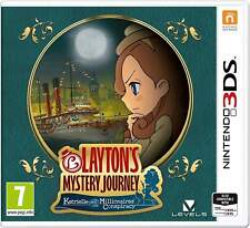LAYTONS MYSTERY JOURNEY: KATRIELLE AND THE MILLIONAIRES CONSPIRACY - 3DS NEW