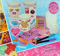 Disney Princess Make Your Own Magical Candle Light Holders Craft Set