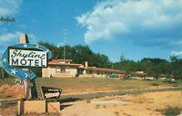 Postcard Skyline Motel Wisconsin Dells Wisconsin