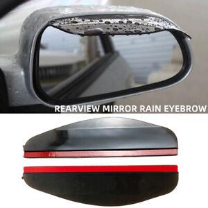 2 Pieces Car side Mirror waterproof Sun Visor Rain Eyebrow Auto Car Rear View