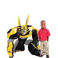 "47"" Bumble Bee Transformers Airwalker Mylar Foil Balloon Party"