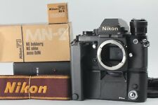 【NEAR MINT+2】Nikon F3 HP Body + MD-4 + MN-2 + MH-2 + AS-4 + MR-3 from JAPAN #11