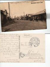 (b81348)   Ansichtskarte Kowel 1916 von bayr. Eisenbahnbaukompanie 3 nach M