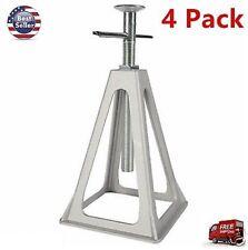 Aluminum RV Stack Jack Stand 4 Pack Motor Home Camper Trailer Lift Support Level