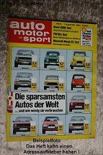 AMS Auto Motor Sport 16/79 Maserati Merak SS VW Iltis BMW M1 Rennwagen