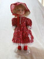 Paradise Galleries Porcelain Doll Treasure Collection Wednesday's Child
