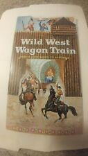 Vintage Wild West Wagon Train Punch-Out Book, Giant Funtime Books, pocket books