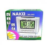 Orologio Sveglia Digitale Nako NA-669 Calendario Data Temperatura Cronometro moc